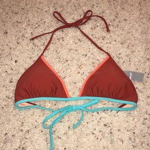Rust Aerie Triangle Swim Top